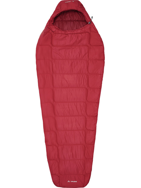 VAUDE Sioux 400 Syn S Sleeping Bag dark indian red